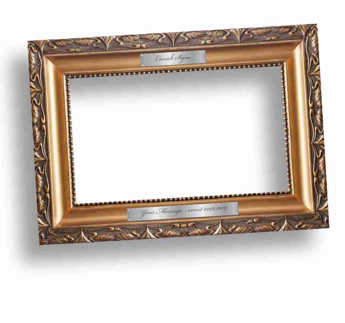 Traditional Ornate Picture Selfie Frame
