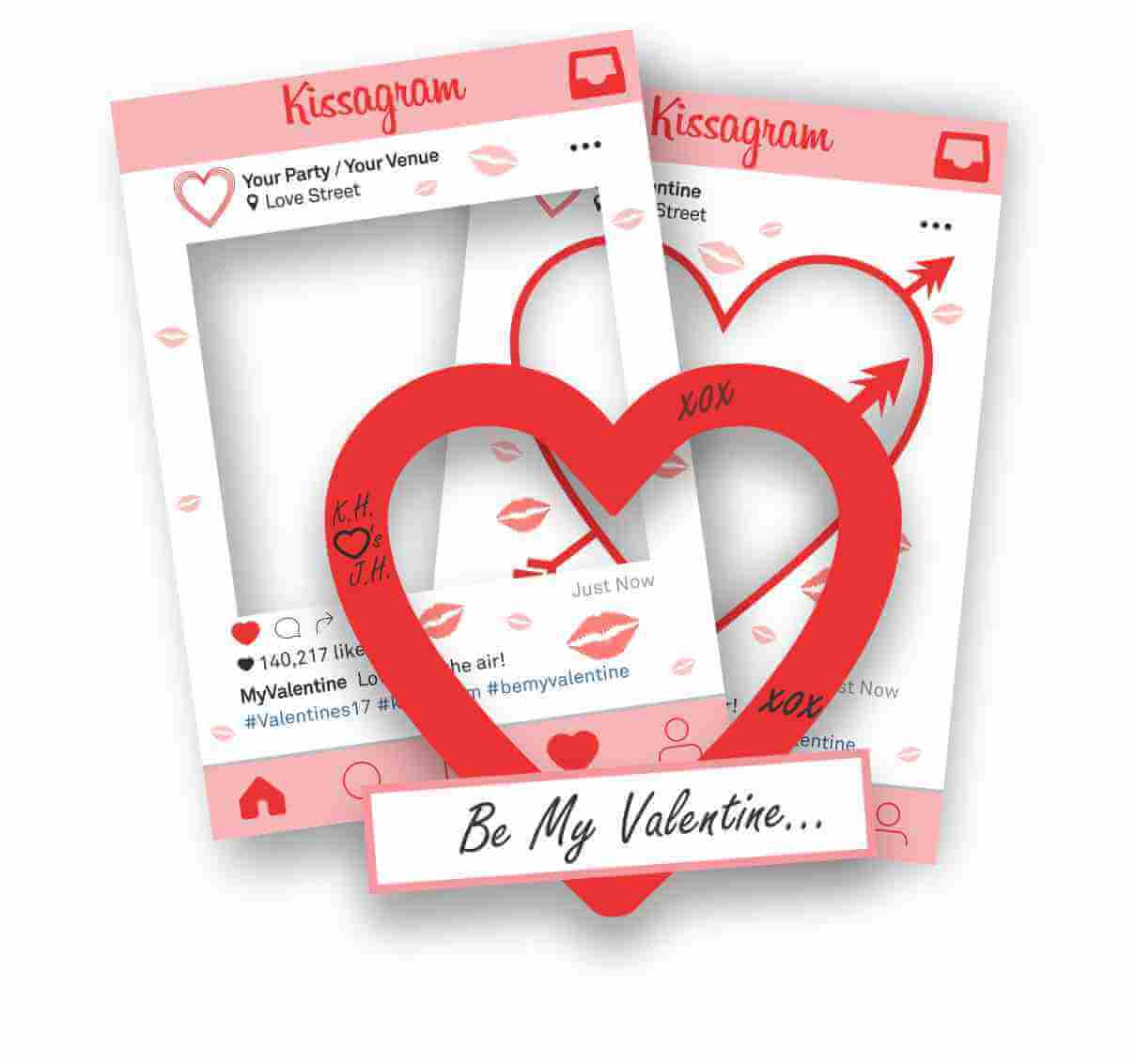 Valentine's Day Selfie Frame