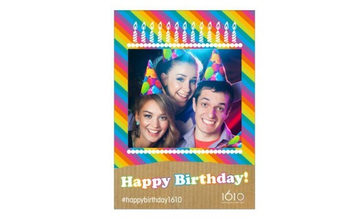 Birthday Party Photo Frame