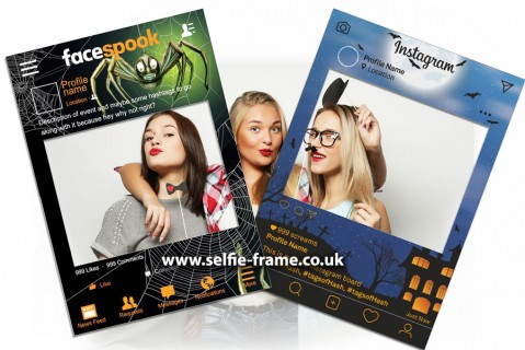 Halloween Instagram and Facebook Selfie Frame