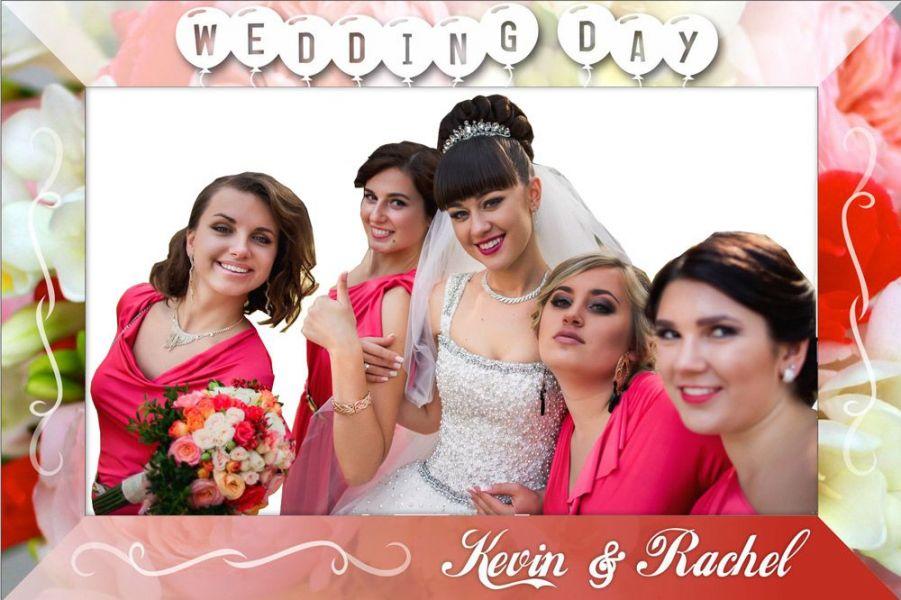Wedding Photo Selfie Frame Wedding Instagram Selfie Frame